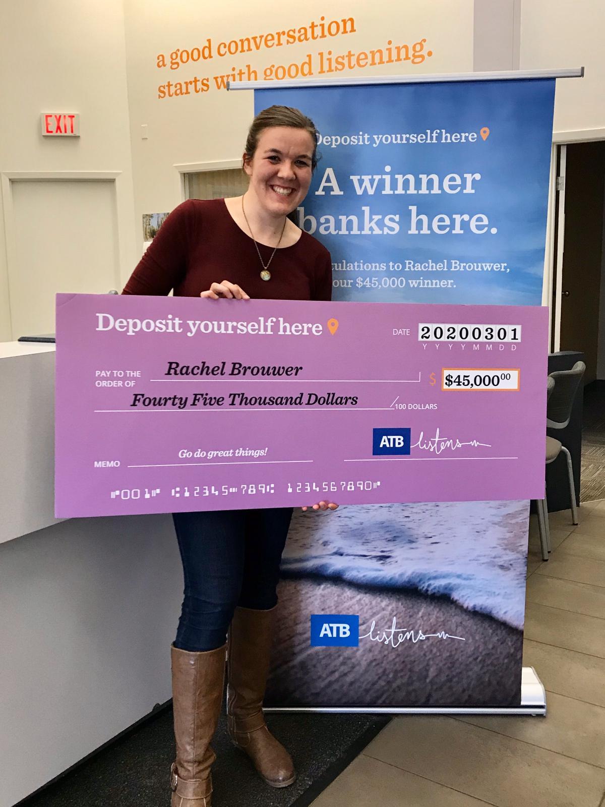 Rachel's big win